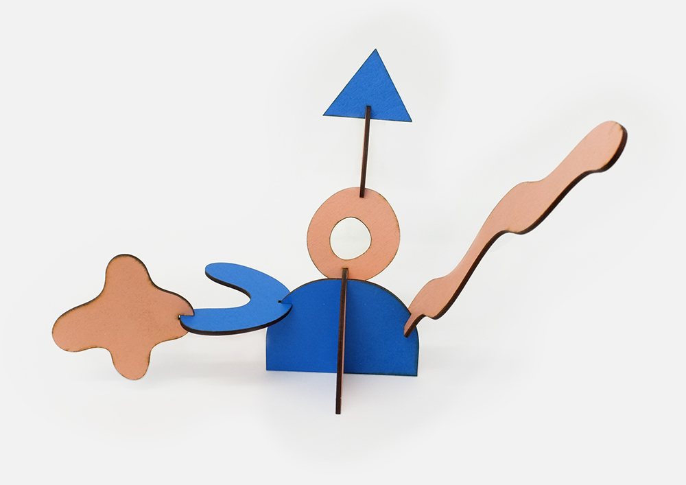 Assemblable Shape Sculpture